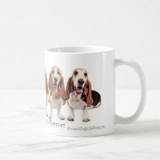 Basset Hound-Freunde für immer Kaffeetasse