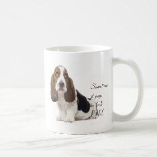 Basset Hound Kaffeetasse