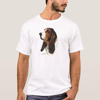 Basset Hound-Kopf 1 T-Shirt