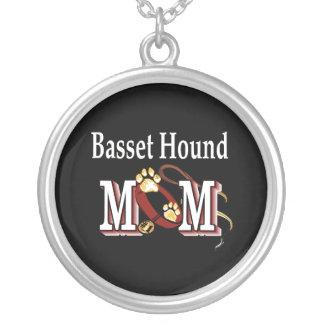 Basset Hound-Mamma Versilberte Kette