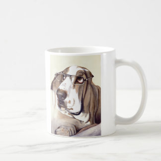 """Basset Hound mit """"schauen meine Augen in diesen gr Tasse"""