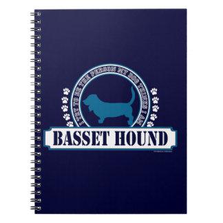 Basset Hound Notizblock
