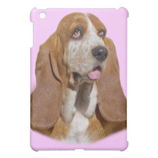 Basset Hound-Porträt IPAD KASTEN iPad Mini Hülle