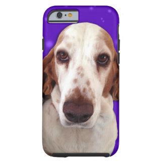 Basset Hound-Telefon-Kasten Tough iPhone 6 Hülle