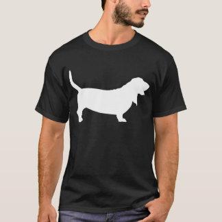 Basset Hound (weiß) T-Shirt