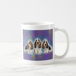 Basset Hound-Welpen Kaffeetasse