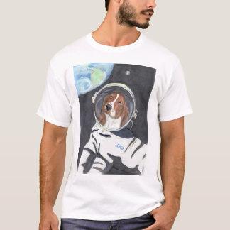 Basset Hound-Weltraumspaziergang T-Shirt