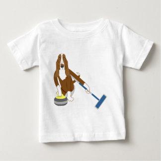 Basset Hound-Winden Baby T-shirt