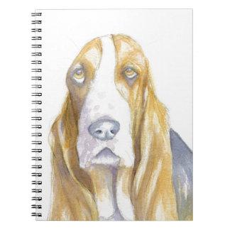 Bassetjagdhund Notizblock