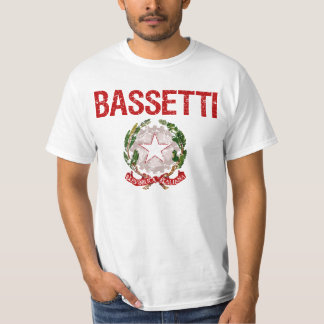 Bassetti Italiener-Familienname T-Shirt
