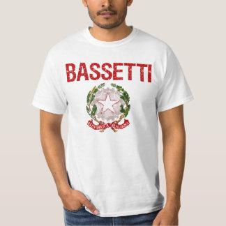 Bassetti Italiener-Familienname Tshirts