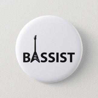 Bassist Runder Button 5,1 Cm