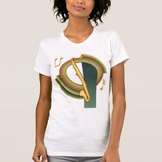 Bassklarinette-Deko T-Shirt