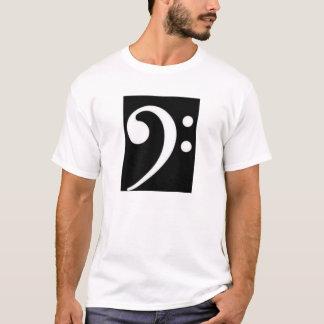 Bassschlüssel T-Shirt