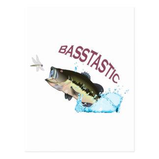 BASSTASTIC POSTKARTE
