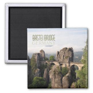 Bastei Brücke im sächsischen die Quadratischer Magnet