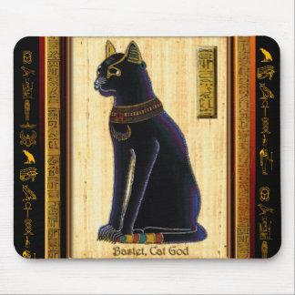 BASTET ägyptische Katzen-Mausunterlage Mauspads