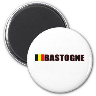 Bastogne, Belgien Runder Magnet 5,1 Cm