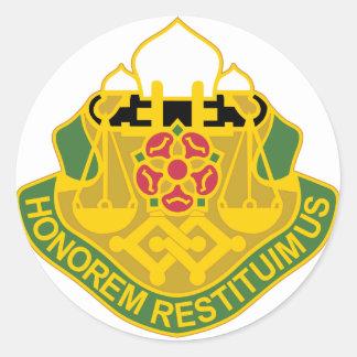 Bataillon der Militärpolizei-160 Runde Sticker
