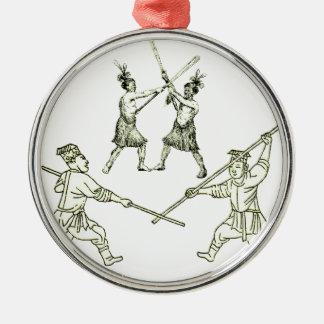 Batalo Silbernes Ornament