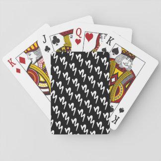 Batavia-Blaskapelle-Spielkarten (Minischwarzes) Spielkarten