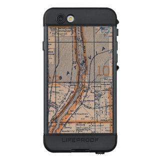 Batavia Illinois flechten KarteFox 1870 River LifeProof NÜÜD iPhone 6s Hülle