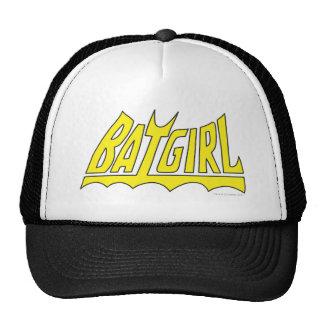 Batgirl Logo Baseball Mützen
