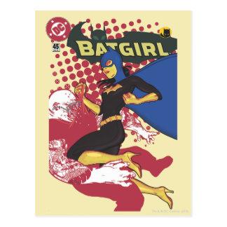 Batgirl Postkarte