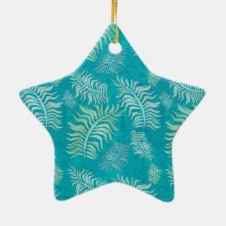 Batik-Verzierung der Palmen-R5 Keramik Ornament