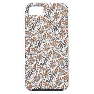 Batik Walang weißes Muster (Java-Muster) iPhone 5 Etui