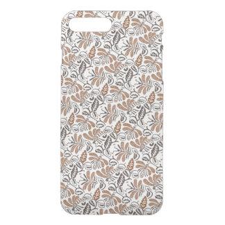 Batik Walang weißes Muster (Java-Muster) iPhone 8 Plus/7 Plus Hülle