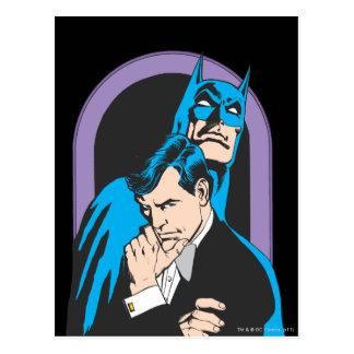 Batman/Bruce Postkarte
