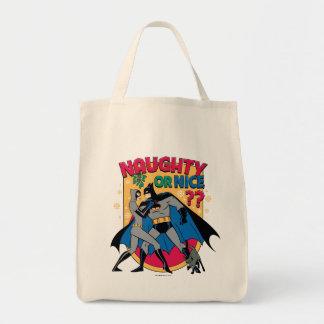Batman   Catwoman unter dem frechen oder Nizza Tragetasche