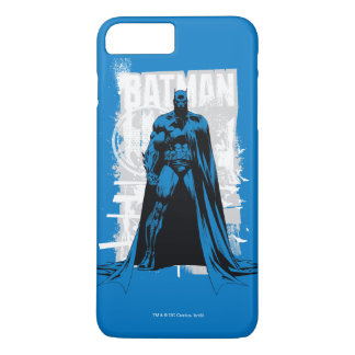 Batman-Comic - Vintages volles - Ansicht iPhone 8 Plus/7 Plus Hülle