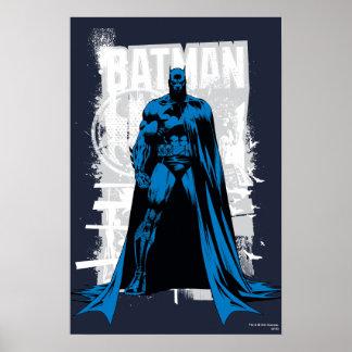 Batman-Comic - Vintages volles - Ansicht Poster