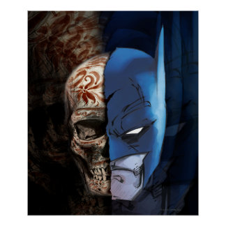 Batman de Los Muertos Plakatdruck