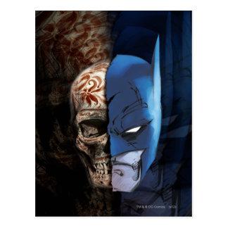 Batman de Los Muertos Postkarte