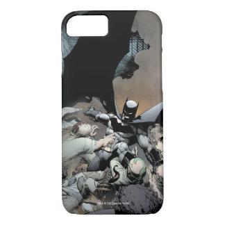 Batman, der Bogen-Feinde kämpft iPhone 8/7 Hülle