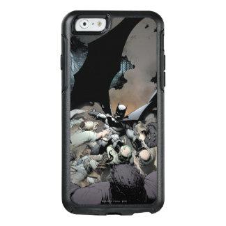 Batman, der Bogen-Feinde kämpft OtterBox iPhone 6/6s Hülle
