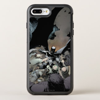 Batman, der Bogen-Feinde kämpft OtterBox Symmetry iPhone 8 Plus/7 Plus Hülle