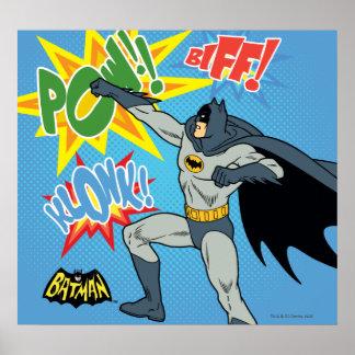 Batman, der Grafik locht Poster