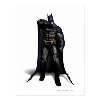 Batman, der seine Braue abwischt