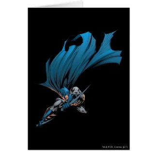 Batman Duell-Üben aus Grußkarte
