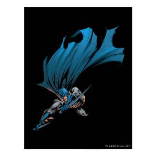 Batman Duell-Üben aus Postkarten
