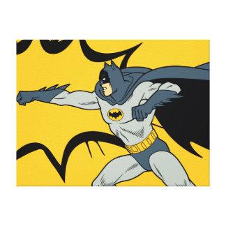Batman-Durchschlag Leinwanddruck