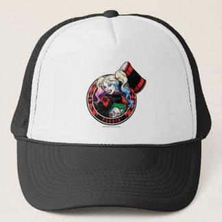 Batman | Harley Quinn, der mit Holzhammer blinzelt Truckerkappe
