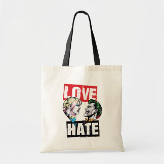 Batman | Harley Quinn u. Joker-Liebe/Hass Tragetasche