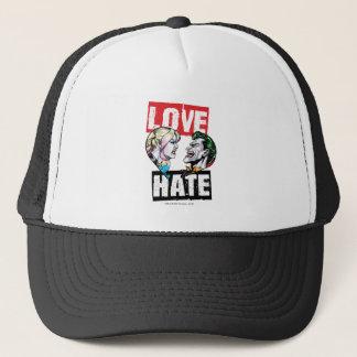Batman | Harley Quinn u. Joker-Liebe/Hass Truckerkappe