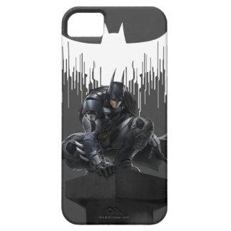 Batman hockte auf einer Säule Barely There iPhone 5 Hülle