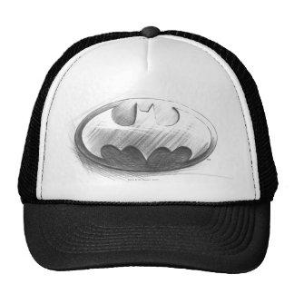 Batman-Insignie-Zeichnen Baseball Mützen